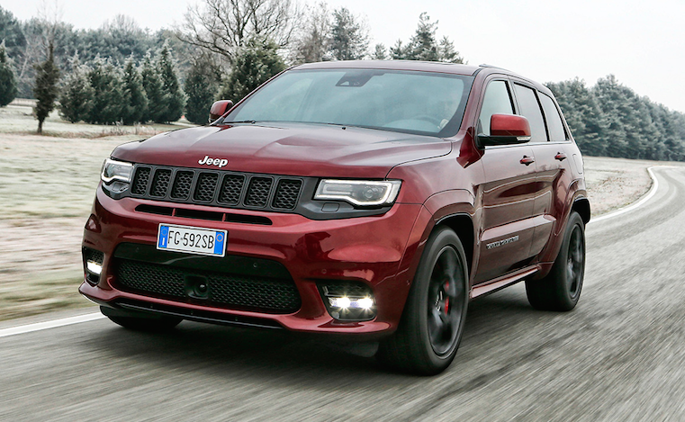 Jeep Grand Cherokee Srt Wins Auto Bild Sports Cars Readers Choice Award Auto Report Africa
