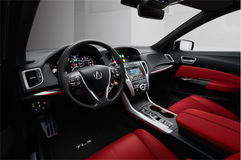 2018 Honda Acura Tlx Tick